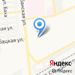 Версон на карте Астрахани