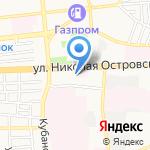 НИКА-А на карте Астрахани