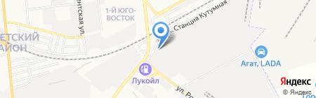 Авто-помощь на карте Астрахани