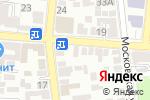 Схема проезда до компании Нутрифит в Астрахани