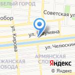 JAB barbershop на карте Астрахани