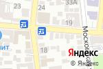 Схема проезда до компании Идеал в Астрахани