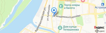 Идеал на карте Астрахани