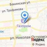 Полиграфком на карте Астрахани