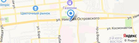 АМОФОР на карте Астрахани