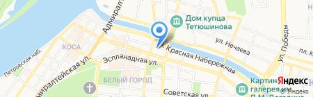 Астраханьэнерго на карте Астрахани