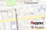 Схема проезда до компании Печатный Дом в Астрахани