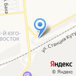 Главзапчасть на карте Астрахани