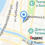 Храм Иконы Казанской Божией Матери на карте Астрахани