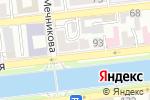 Схема проезда до компании Михайловский в Астрахани