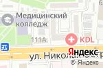 Схема проезда до компании Преображение в Астрахани