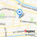 Управление государственной гражданской службы и кадров Администрации Губернатора Астраханской области на карте Астрахани