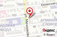 Схема проезда до компании ОХРАНА И СИСТЕМЫ БЕЗОПАСНОСТИ в Астрахани