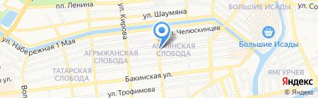 Волга-Электронные Системы на карте Астрахани