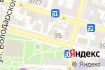 Схема проезда до компании Candela в Астрахани