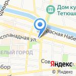 Элита на карте Астрахани