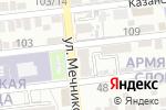 Схема проезда до компании Союз Потребителей в Астрахани