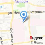 Областной центр крови на карте Астрахани