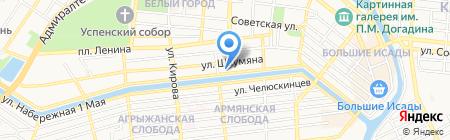 Хобби Хаус на карте Астрахани