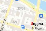 Схема проезда до компании Коммунэнергосервис в Астрахани