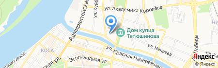 ДЭКЕ на карте Астрахани