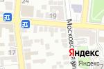 Схема проезда до компании Аст-Недвижимость в Астрахани