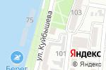 Схема проезда до компании Отдел вневедомственной охраны войск Национальной гвардии Российской Федерации по Астраханской области в Астрахани