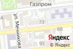 Схема проезда до компании АС в Астрахани