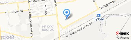 Детский сад №129 Высотка на карте Астрахани