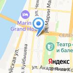 Евро-Тур 30 RU на карте Астрахани