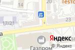 Схема проезда до компании Дело-Лекс в Астрахани