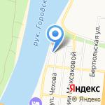 Отдел вневедомственной охраны на карте Астрахани
