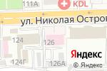 Схема проезда до компании Орто в Астрахани