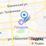 Астраханская энергосбытовая компания на карте Астрахани