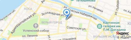 Магистр на карте Астрахани