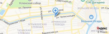 Армянская Апостольская Церковь Святой Рипсиме на карте Астрахани