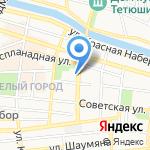 Астраханский государственный медицинский университет на карте Астрахани
