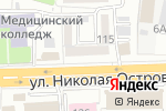 Схема проезда до компании Мебель Черноземья в Астрахани