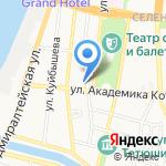 A-деталь на карте Астрахани
