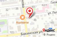 Схема проезда до компании Индустрия Окон в Астрахани