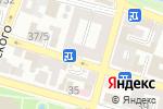 Схема проезда до компании Заправский в Астрахани