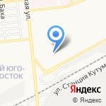 Высотка на карте Астрахани