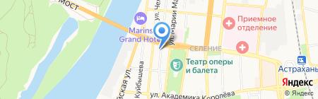 Единый Визовый Центр на карте Астрахани