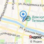 Янтарь на карте Астрахани