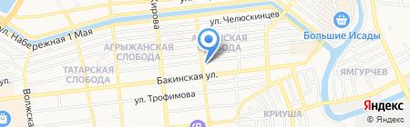 2А софт на карте Астрахани
