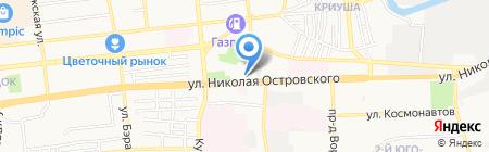 Мебель Черноземья на карте Астрахани