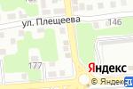 Схема проезда до компании Массажный кабинет в Астрахани