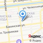 Инфо-телеком на карте Астрахани