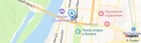 АВТОЗАЙМ на карте Астрахани