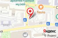 Схема проезда до компании Глазурь в Астрахани